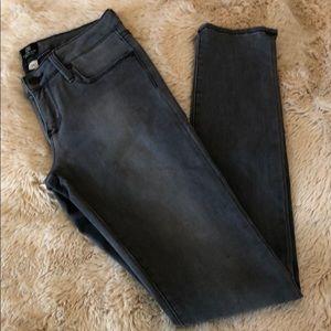 Just Black Gray Skinny Jeans